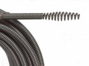 Spirale für abflußreinigung
